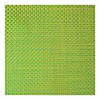 Bistro Woven Square Placemat in Light Green