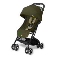 GB Qbit Travel Stroller in Lizard Khaki