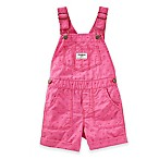 OshKosh B'gosh® Size 3M Heart Print Shortall in Pink