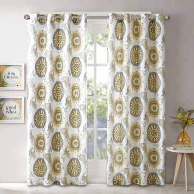 Buy Yellow Curtains from Bed Bath Beyond