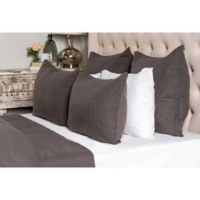 Villa Home Cressida King Reversible Quilt in Charcoal
