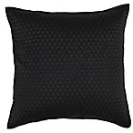 Villa Home Diamond European Pillow Sham in Black