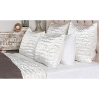 Villa Home Aura Queen Quilt in Ivory