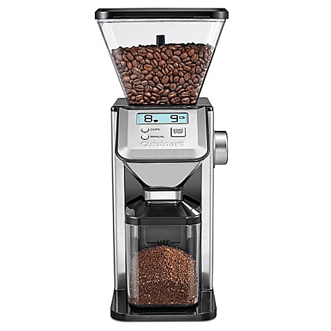 Cuisinart Conical Burr Coffee Grinder In Silver Bed Bath Beyond