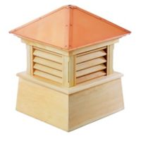 Good Directions Manchester® 93-Inch Cupola in Natural/Copper