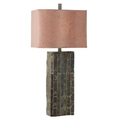 Outdoor Table Light Buy outdoor table lamps from bed bath beyond kenroy home ripple table lamp in slate workwithnaturefo