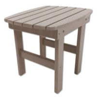 Pawleys Island® All-Weather Durawood® Side Table in Weatherwood
