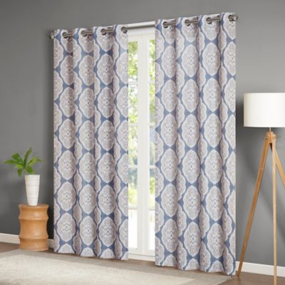 Buy Indigo Curtain Panels From Bed Bath Amp Beyond