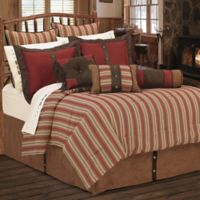 HiEnd Accents Rock Canyon 6-Piece Queen Comforter Set in Red