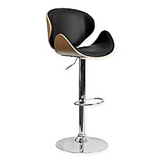 Flash Furniture Curved Seat And Back Bar Stool Bed Bath