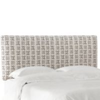 Skyline Furniture Upholstered King Headboard in Cream