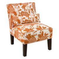 Skyline Furniture Accent Chair in Garden Bird Orange