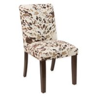 Skyline Furniture Dining Chair in Cow Cream