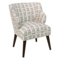 Skyline Furniture Modern Arm Chair in Remmy Cream