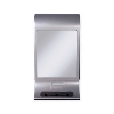 zadro zu0027 fogless led mirror in silver