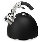 Epoca 3 qt. Primula Soft Grip Tea Kettle in Matte Black