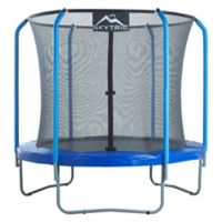 Upper Bounce Skytric 8-Foot Trampoline with Top Ring Enclosure
