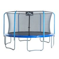 Upper Bounce Skytric 15-Foot Trampoline with Top Ring Enclosure