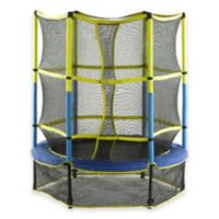 55-Inch Upper Bounce Kids Mini Trampoline with Enclosure