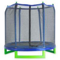 7-Foot Upper Bounce Indoor/Outdoor Kids Trampoline with Enclosure