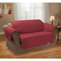 QuickCover Waterproof Premium Love Seat Protector in Merlot
