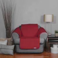 QuickCover Waterproof Premium Chair Protector in Merlot