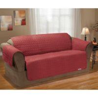 QuickCover Waterproof Premium Sofa Protector in Merlot