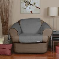 QuickCover Waterproof Premium Condo-Size Chair Protector in Slate