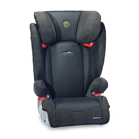 monterey booster car seat by sunshine kids black bed bath beyond. Black Bedroom Furniture Sets. Home Design Ideas