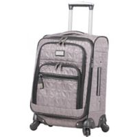 Nicole Miller NY Signature Quilt 20-Inch Expandable Upright Spinner in Grey