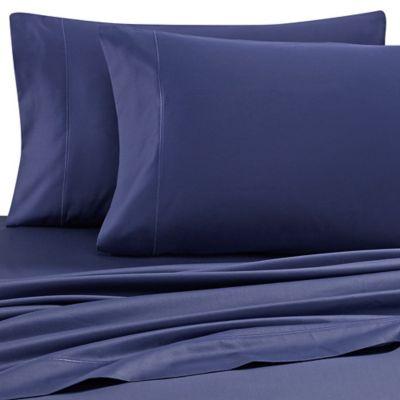 Wamsutta® 500 Thread Count PimaCott® Full Sheet Set In Navy