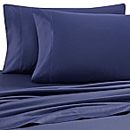 Wamsutta® 500-Thread-Count PimaCott® Queen Sheet Set in Navy