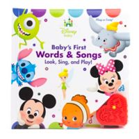 Play-a-Song® Baby's First Words & Songs Look, Sing and Play! Board Book: Disney Baby