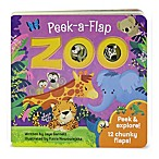 "Peek-A-Flap Board Book: ""Zoo"" by Jaye Garnett"