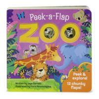 """Peek-A-Flap Board Book: """"Zoo"""" by Jaye Garnett"""