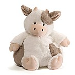 Chub Cow Plush Toy in White/Black