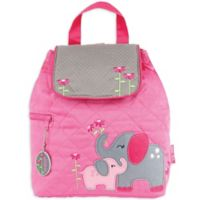 Stephen Joseph™ Elephant Quilted Backpack in Pink