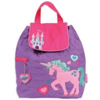 Stephen Joseph™ Unicorn Quilted Backpack in Pink