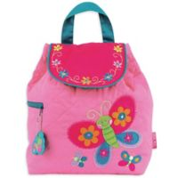 Stephen Joseph™ Butterfly Quilted Backpack in Pink