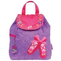 Stephen Joseph™ Ballet Quilted Backpack in Purple