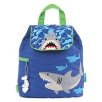 Stephen Joseph™ Shark Quilted Backpack in Blue