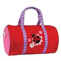 Stephen Joseph® Ladybug Quilted Duffle in Red