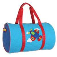 Stephen Joseph® Airplane Quilted Duffle in Blue