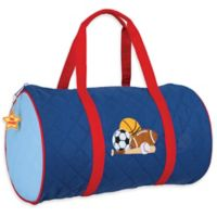 Stephen Joseph® Sports Quilted Duffle in Blue