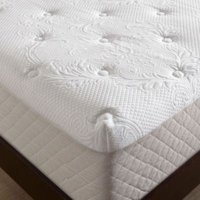 Serta 12Inch Gel Memory Foam Mattress in White Bed Bath Beyond