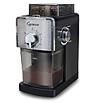 Capresso® Coffee Burr Grinder in Black/Stainless Steel
