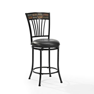 buy black metal counter stools from bed bath beyond