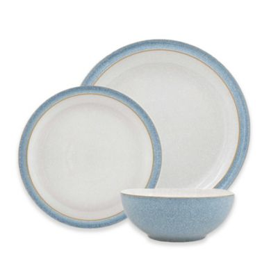 Denby Elements 12-Piece Dinnerware Set in Blue  sc 1 st  Bed Bath u0026 Beyond & Buy Denby Dinnerware from Bed Bath u0026 Beyond