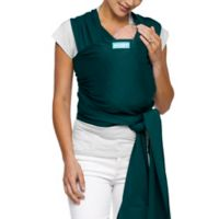 Moby® Wrap Classic Modern Baby Carrier in Pacific with Black Stitch