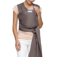 Moby® Wrap Classic Modern Baby Carrier in Slate with Black Stitch